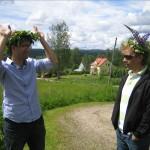 Krans - Romain et Oswaldo